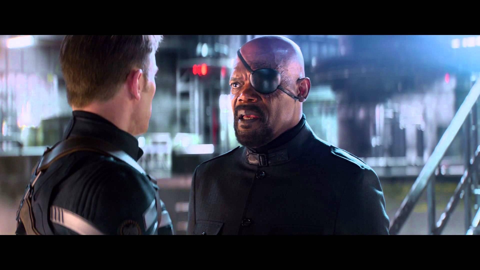 captain America: Winter Soldier Trailer